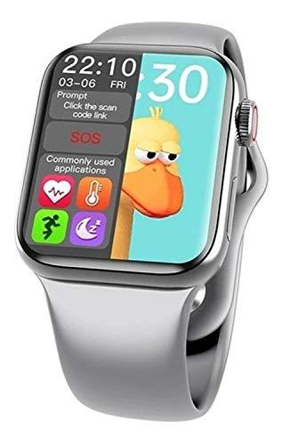 Relógio Smartwatch Inteligente Bluetooth Hw12 41mm Notificações e Ligações Ios e Android Pronta Entrega Top (Prata)