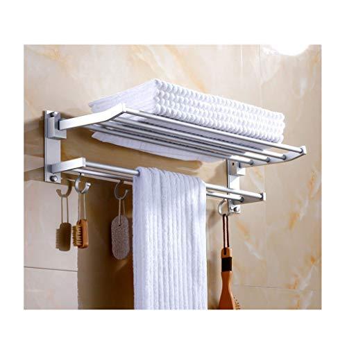 Pared Cesta de ducha Toalla de aluminio Acabado Marco soporte de la...
