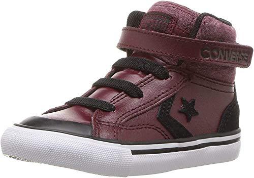 Converse Pro Blaze Strap, Zapatillas de Deporte Unisex niño, Multicolor (Dark Burgundy/Black/White...