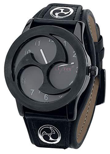 etNox Time Triscel Männer Armbanduhren Standard Kunstleder, Zinklegierung Rockwear, Wikinger