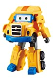 Super Wings Auldey eu720225 Transforming Poppa Wheel - Rueda con articulación (12 cm), Color Amarillo