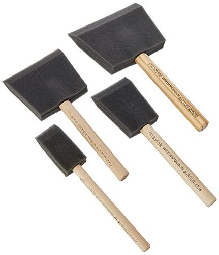 Foam Brush Set (1,2,3 & 4in)