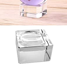 1//4-20 Female Thread Arca Swiss Type Plate Design JJC 2 Pack Suction Mount Crystal Ball Stand for 50mm-100mm Diameter Glass Sphere Aluminium Alloy+Silica Gel