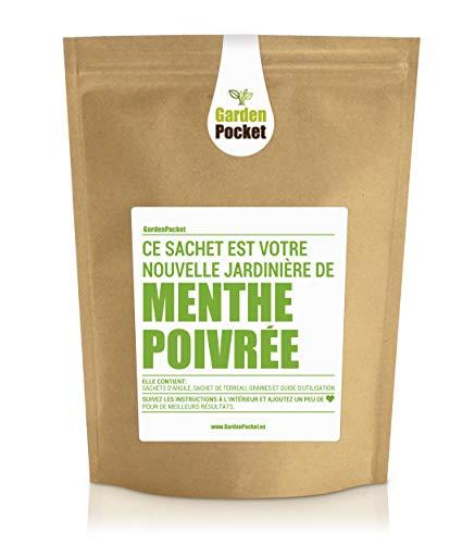 Garden Pocket - Kit de culture d'herbes aromatiques MENTHE - Sac de pot de fleur