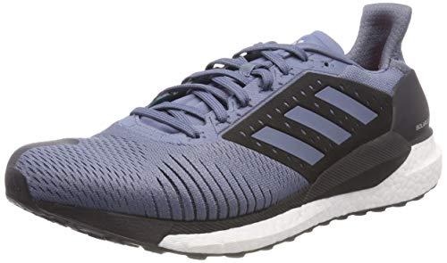 adidas Laufschuh Solar Glide St M, Zapatillas de Running para Hombre, Gris Rawste/Hiraqu 000, 44 EU