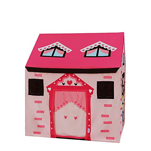 Lowest Price! Mogicry Pink Indoor Play House Tent Outdoor Boy Girl Child House Toy Room Princess Dol...