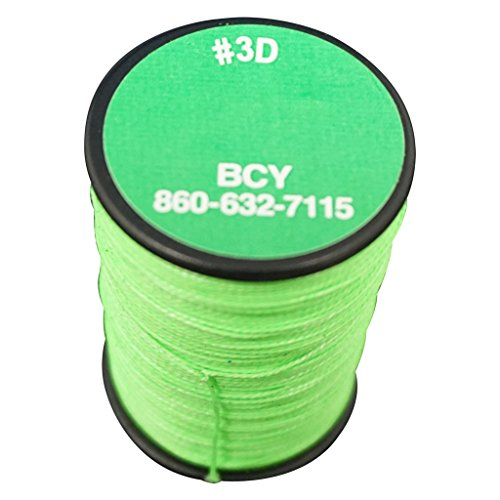 BCY 3D End Serving Bow String, Neon Green, 120 yd