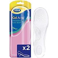 Scholl Plantillas, óptimas para zapatos de tacón diario con tecnología Gel Activ, comodidad todo el día, 2 plantillas