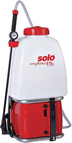 SOLO 416 Li 20 Liter Akku Rückenspritze mit Lithium Ionen Akku -Hergestellt in Deutschland-
