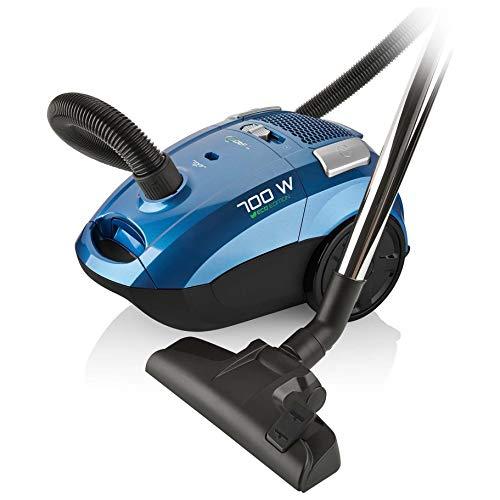 Eta TIAGO 4507 Boden-Staubsauger Beutel Blau 700 Watt 10m Aktiosnradius