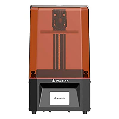 """Voxelab Polaris 3D Printer UV Photocuring LCD Resin 3D Printer Assembled with 3.5''Smart Touch Color Screen Off-line Print 4.53""""(L) x 2.56""""(W) x 5.9""""(H) Printing Size"""