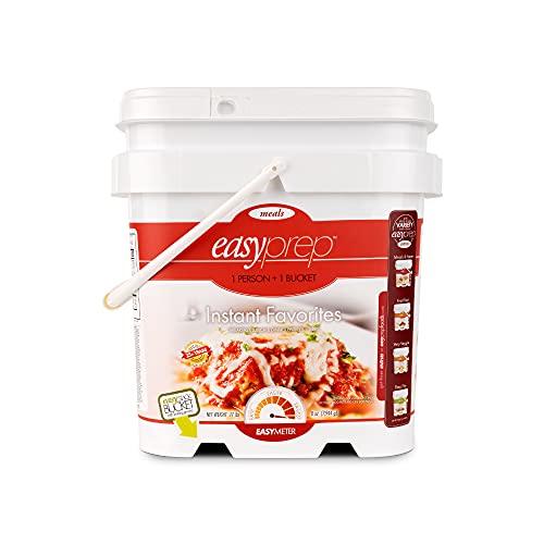 EasyPrep Instant Favorites Emergency Food Supply, Freeze-Dried Meals for Disaster Preparedness...