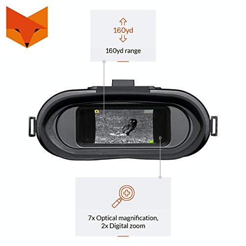 Nightfox 110R Breitbild-Display Nachtsicht Binokular Erfahrungen & Preisvergleich