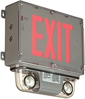 Class 1 Division 2 Exit Sign Combo