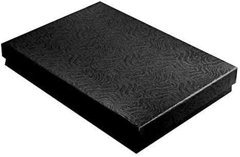 100 正規販売店 Custom Printed Swirl Black 特価キャンペーン Jewelry Cotton Packaging Filled D