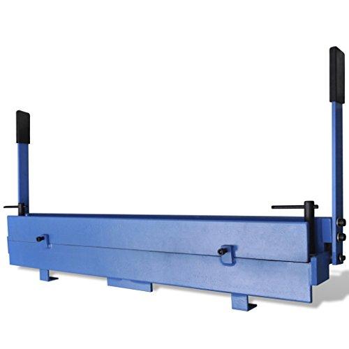 Festnight Manuell Blechbiegemaschine Biegemaschine Blechbearbeitung Maximale 1000 mm Biegewinkel 135 °