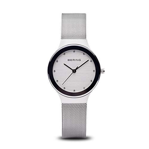 BERING Damen Analog Quarz Uhr mit Edelstahl Armband 12934-000