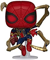 Funko - Avengers Endgame - Iron Spider with Nano Gauntlet Figurina de Colección, Multicolor, 45138