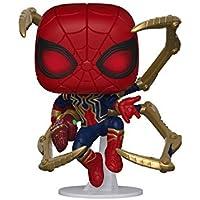 Funko- Pop Marvel: Endgame- Iron Spider w/NanoGauntlet Colctib Toy, Multicolor, Talla Única (45138)