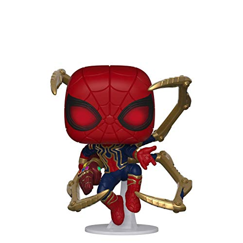 Funko- Pop Marvel: Endgame-Iron Spider w/NanoGauntlet Figura Coleccionable, Multicolor, Talla Única (45138)