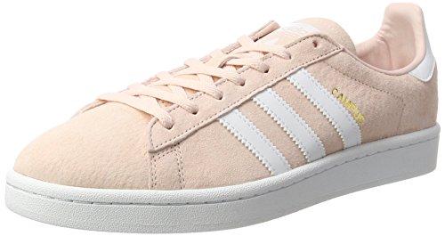 adidas Campus, Scarpe da Ginnastica Basse Donna, Rosa (Icey Pink F17/ftwr White/crystal White S16), 41 1/3 EU