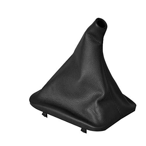 ZBSM Cubierta de Bota de Polaina de Cuero para Perilla de Cambio de Marchas del Coche para Mercedes W123 W140 W202