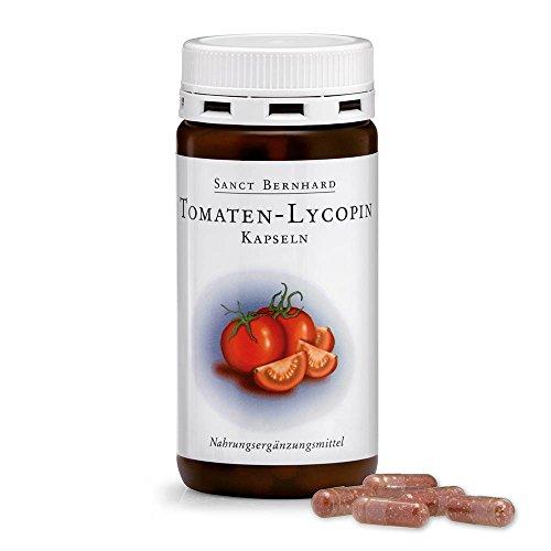 Sanct Bernhard Tomaten-Lycopin-Kapseln mit Lycopin, Tomatenpulver, Vitamin E 120 Kapseln 1x65g