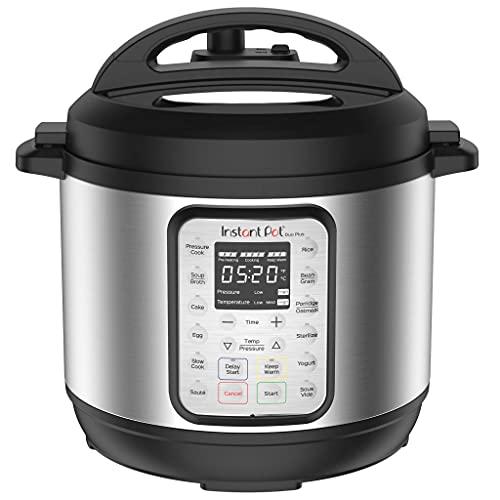 Instant Pot Olla a presión eléctrica DUO PLUS 5.7L. 15 programas inteligentes: olla a presión, olla arrocera, olla de cocción lenta, vaporera