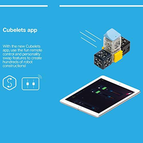 Modular Robotics Cubelets Robot Blocks - Curiosity Set - Kids Coding Robots, Learn STEM Concepts, Ages 4+