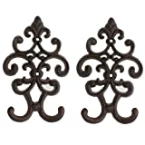 """Comfify Cast Iron Vintage Double Wall Hook 