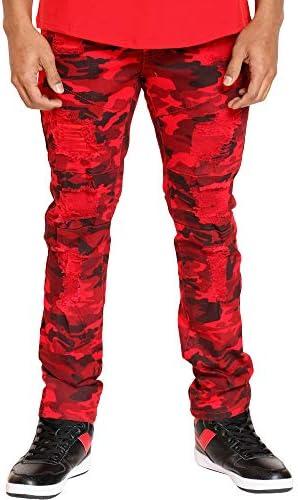 BESTSELLER Argonaut Nations Ripped Denim Stretch Skinny Jeans Pants New