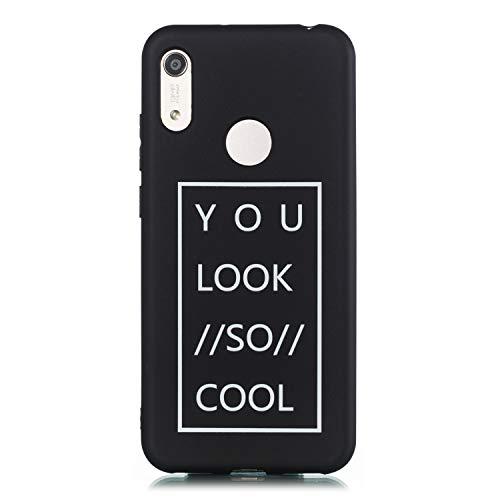 QX Hulle fur Huawei Y6 2019 MRD LX3 MRD LX1F hulle TPU Weiches Silikon Schutzhulle Case Cover 9