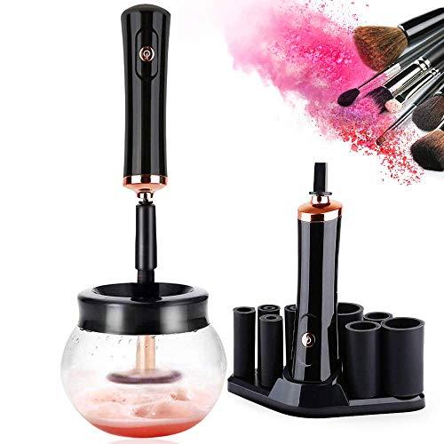 Limpiador de brochas de maquillaje y secadora,...