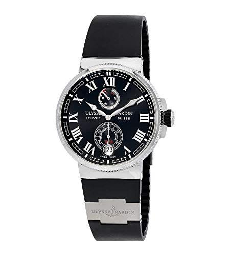 Ulysse Nardin Marine cronómetro fabricación 43mm reloj automático - 1183-126-3/42
