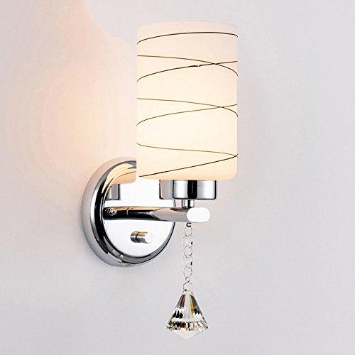 JJZHG Wandlamp, waterdicht, wandverlichting, wandlamp, slaapkamer, tweepersoonsbed, bedlamp, woonkamer, tv, wandverlichting, creatieve trap, A bevat: wandlamp, stoere wandlampen