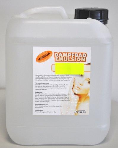 Warda Emulsion Kamille 5l für das Dampfbad, entspannende Wirkung