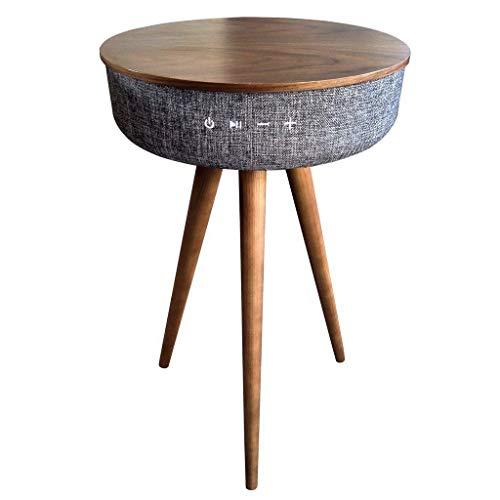 Blaupunkt BLP0500.143 Bluetooth Tisch Walnuss/Leinen Natur