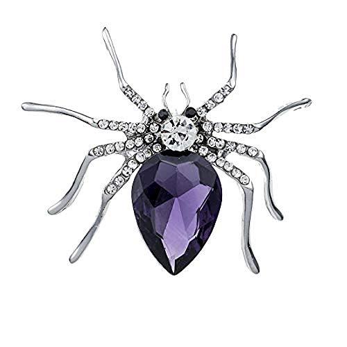 JJrainning Brosche Spider Ebay Diamond SpiderCorsage Schmuck