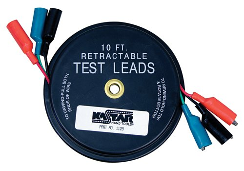 Price comparison product image Lang Tools (1129 Retractable Test Lead,  black