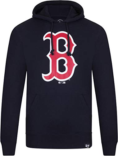 47 Brand Boston Red Sox Headline MLB Hoodie Sweatshirt Navy, M