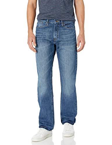 Nautica Herren Straight Fit Jeans - Blau - 34W / 32L