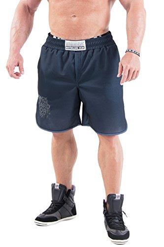 NEBBIA HARDCORE Fitness Shorts 302 (Black, M)