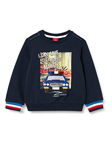 s.Oliver Junior Jungen 404.12.012.14.140.2056512 Sweatshirt, Blau(5952), 92/98.REG