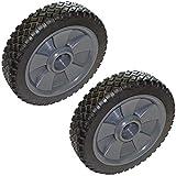 Black & Decker cmm1000/cm1200Rasenmäher Ersatz (2Pack) OEM 22,9cm Rad # 242618–01–2Stück