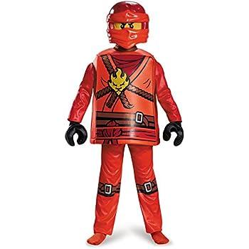 Lego Ninjago 98105K Ninjago Kai Disfraz Deluxe M (7-8 J), Niños ...