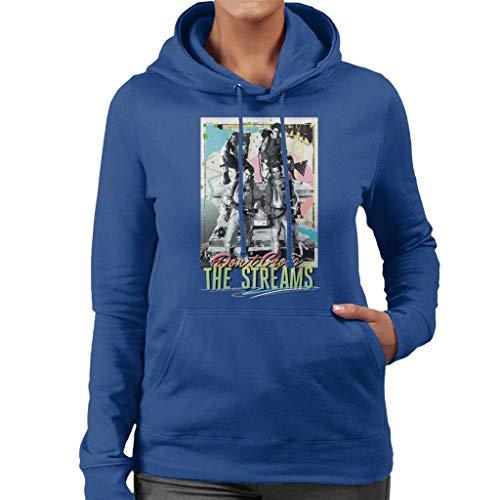 Ghostbusters Don't Cross The Streams Women's Hooded Sweatshirt