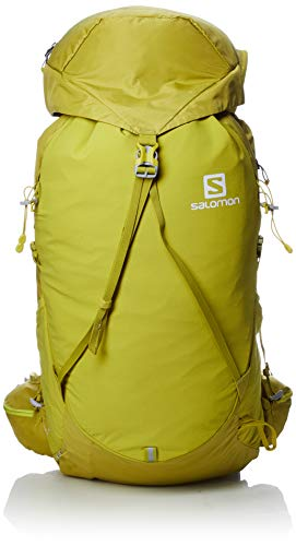 Salomon out Week 28+6 Mochila, Capacidad 44 L, Unisex Adulto, Amarillo (Citronelle), M/L