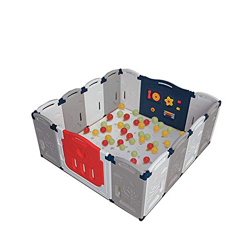 Buy Bargain Safety Protection Foldable Baby Playpen, 14 Panel Kid's Activity Center GG-45I1 Safety P...