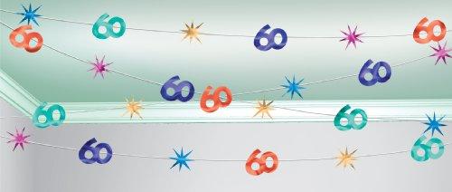 amscan International la fête Continue 30,5 m Corde Décoration 60 Ans