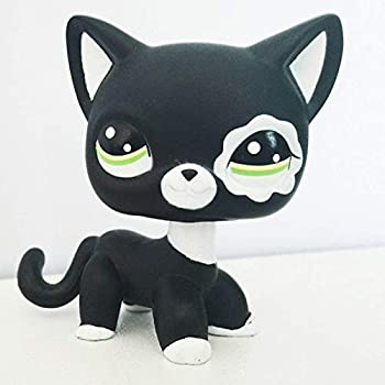 Really rare pet shop lps toys standing short-haired cat old primitive dog dachshund shepherd dog great dane gifts for children